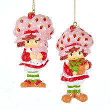 Kurt Adler Strawberry Shortcake Ornament #SS1171