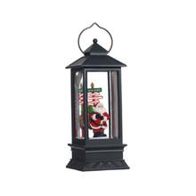 RAZ LED Santa Waterglobe Lantern #3700780