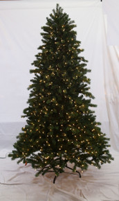 7.5ft Pre-Lit 'Real Feel' Colorado Spruce Tree in Clear