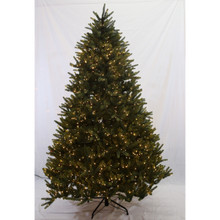 6.5ft Pre-Lit 'Real Feel' Washington Valley Spruce Tree in Warm White