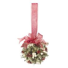 Kissing Krystals Mistletoe Ball Ornament #KK273