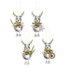 Kissing Krystals Teeny Reindeer Mistletoe Ornament #KK382