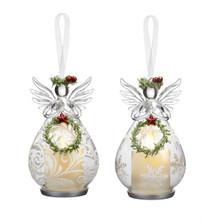 Kissing Krystals Clear Angel Mistletoe LED Ornament #KKLL09