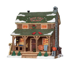 Lemax Village Collection Big Cat Cabin #25389