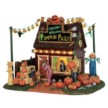 Lemax Village Collection Spooky Hollow Pumpkin Patch #54902