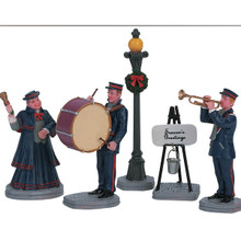 Lemax Village Collection Christmas Band, Set Of 5 #62323
