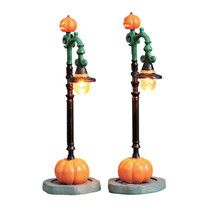 Lemax Village Collection Witch Pumpkin Patch, Set Of 2 #74217