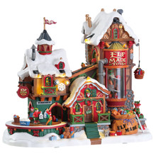 Lemax Village Collection Elf Made Toy Factory #75190