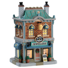 Lemax Village Collection A Cut Above Jewelers #75236