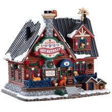 Lemax Village Collection Alpine Lodge Pet Retreat #75255