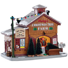 Lemax Village Collection Henry's Christmas Tree Farm #75257