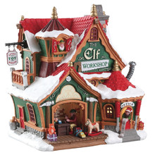 Lemax Village Collection The Elf Workshop #75291