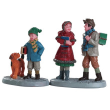 Lemax Village Collection Going To School, Set Of 2 #82595
