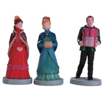 Lemax Village Collection New Holiday Hats, Set Of 3 #82597