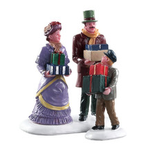 Lemax Village Collection Walking Family, Set Of 2 #82605