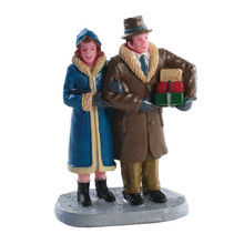 Lemax Village Collection Christmas Couple #82611