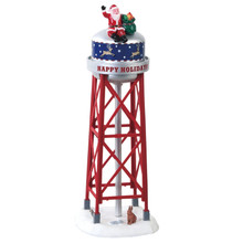 Lemax Village Collection Holiday Tower #83353