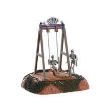 Lemax Village Collection Skeleton Swings #84334