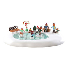 Lemax Village Collection Gingerbread Skating Pond #84352