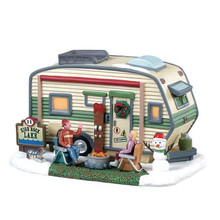 Lemax Village Collection High Rock Lake Trailer #85322