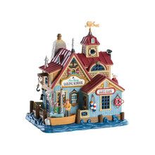 Lemax Village Collection Sea Spray Sailing School #85336