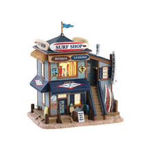 Lemax Village Collection Skip's Surf Shop #85339