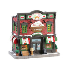 Lemax Village Collection Italian Gelateria #85373