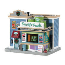 Lemax Village Collection Percy's Paints #85381