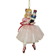 Kurt Adler Clara the Ballerina Ornament #E0249
