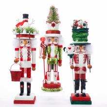 Kurt Adler Christmas Themed Nutcrackers #HA0412