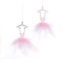 Kurt Adler Pink Ballet Dress Ornament #T2428