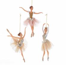 Kurt Adler Ballerina Ornament #TD1596