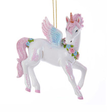 Kurt Adler Unicorn Ornament #TD1599