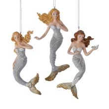 Kurt Adler Under Sea Mermaid Ornament #C6794
