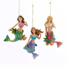 Kurt Adler Mermaid Ornament #C8738