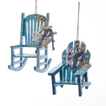 Kurt Adler Beach Chair Ornament #D3353