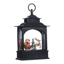 RAZ Santa in Sleigh Lighted Water Lantern #3740513