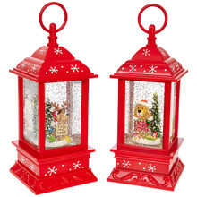 RAZ Christmas Pup Lighted Water Lantern #3800775