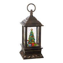 RAZ Christmas Tree Lighted Water Lantern #3800778