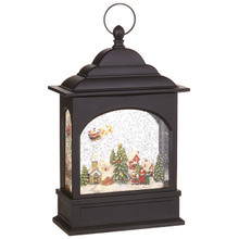 RAZ Flying Santa Lighted Water Lantern #3800799
