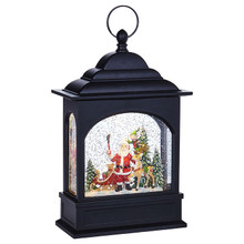 RAZ Santa Selfie Lighted Water Lantern #3840515