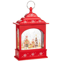 RAZ Gingerbread Lighted Water Lantern #3840516