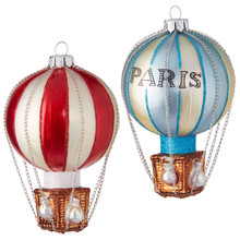 RAZ Vintage Hot Air Balloon Ornament #3853011