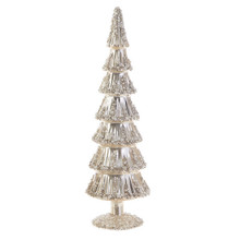 RAZ Large Champagne Beaded Tree #3822968A