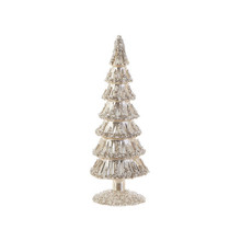 RAZ Medium Champagne Beaded Tree #3822968B