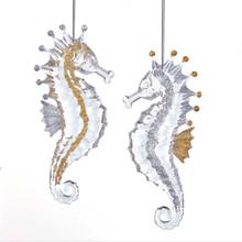 Kurt Adler Seahorse Ornament #D3414