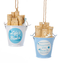 Kurt Adler Beach Pail Ornament #E0222