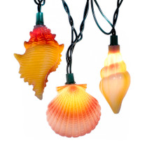 Kurt Adler Conch and Shells Light Set #UL1164
