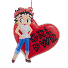 Kurt Adler Girl Power Betty Boop Ornament #BB2182