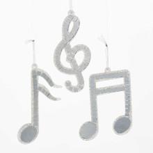 Kurt Adler Musical Note Mirror Ornament #D0263